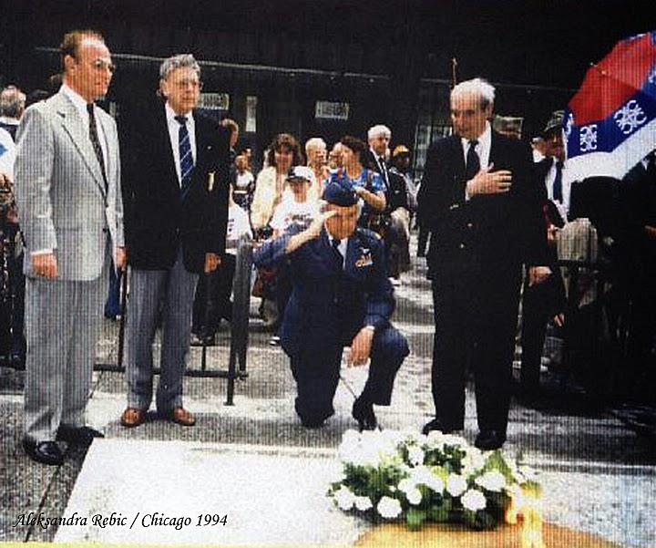 General Draža Mihailovich: Royal Canadian Air Force Veterans
