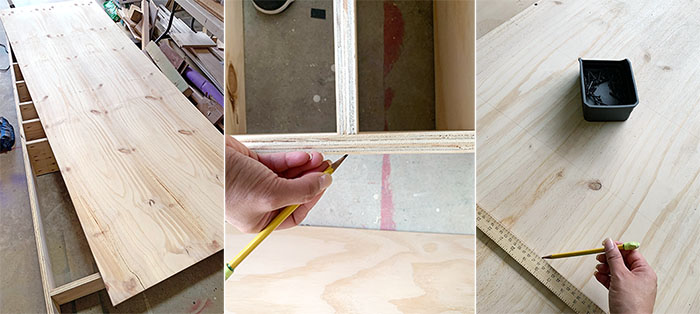 How to attach back to large cabinet