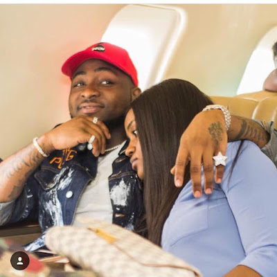 Loved Up Photos Of Davido & Chioma On A Private Jet To Sierra Leone - Image ~ Naijabang