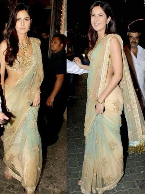 Katrina Kaif Images In Saree
