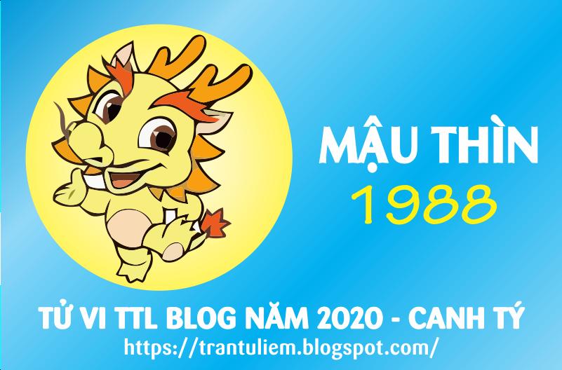 TỬ VI TUỔI MậU THÌN 1988 NĂM 2020