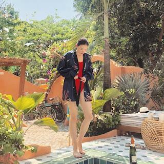 Linh Rin khoe ảnh diện đồ bơi, body nóng bỏng hút trọn mọi ánh nhìn