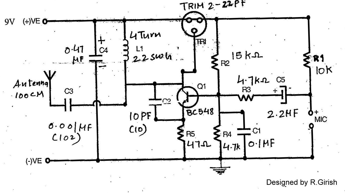 Make This Radio Repeater At Home How To Interesting Ic 4060 Circuits Fm Transmitter Schematic For The Proposed Circuit