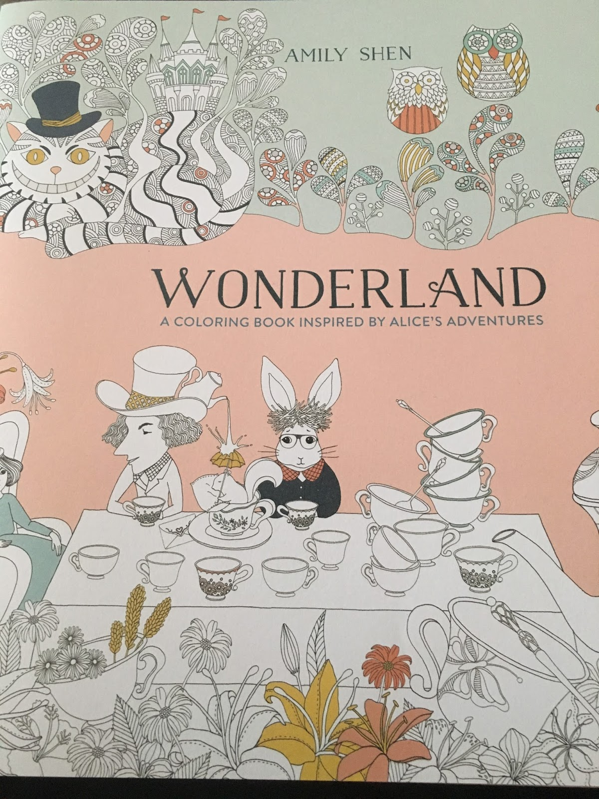 Coloring Book Review Wonderland By Amy Shen