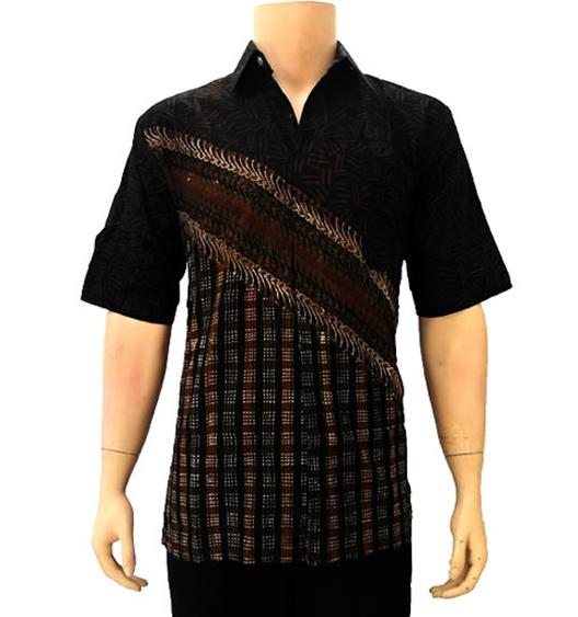 Desain Baju Batik Unik: Desain Kemeja Batik Lengan Pendek Dan Panjang Untuk Pria