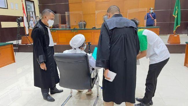 "Habib Rizieq Protes Jaksa Pertanyakan Hal ""Gak Nyambung"" Soal FPI"