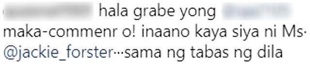 Jackie Foster, Sinupalpal Ang Isang Basher Matapos Laitin Ang Kanyang Anak!