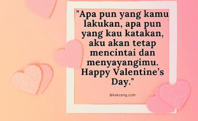 Kata-kata ucapan Hari Valentine buat pacar