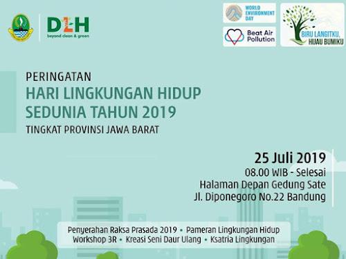 Hari Lingkungan Hidup 2019  Gedung Sate