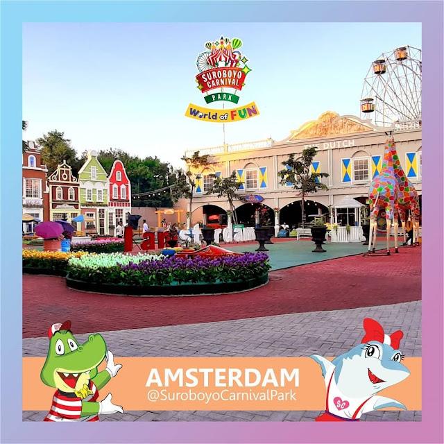 Zona Amsterdam Suroboyo Carnival Park