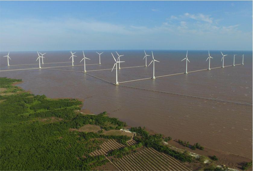 cánh điện gió Bạc Liêu-tour lục tỉnh miền tây