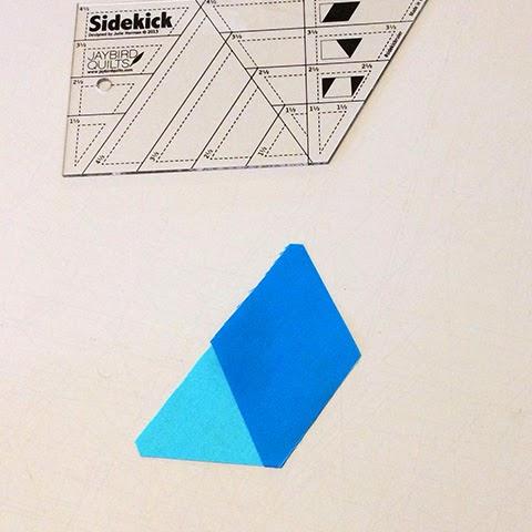 Sidekick Diamond Tips Jaybird Quilts