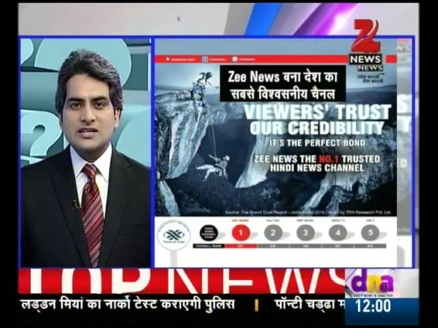 Enjoy Zee News Channel on dd direct dth (DD Direct Plus)