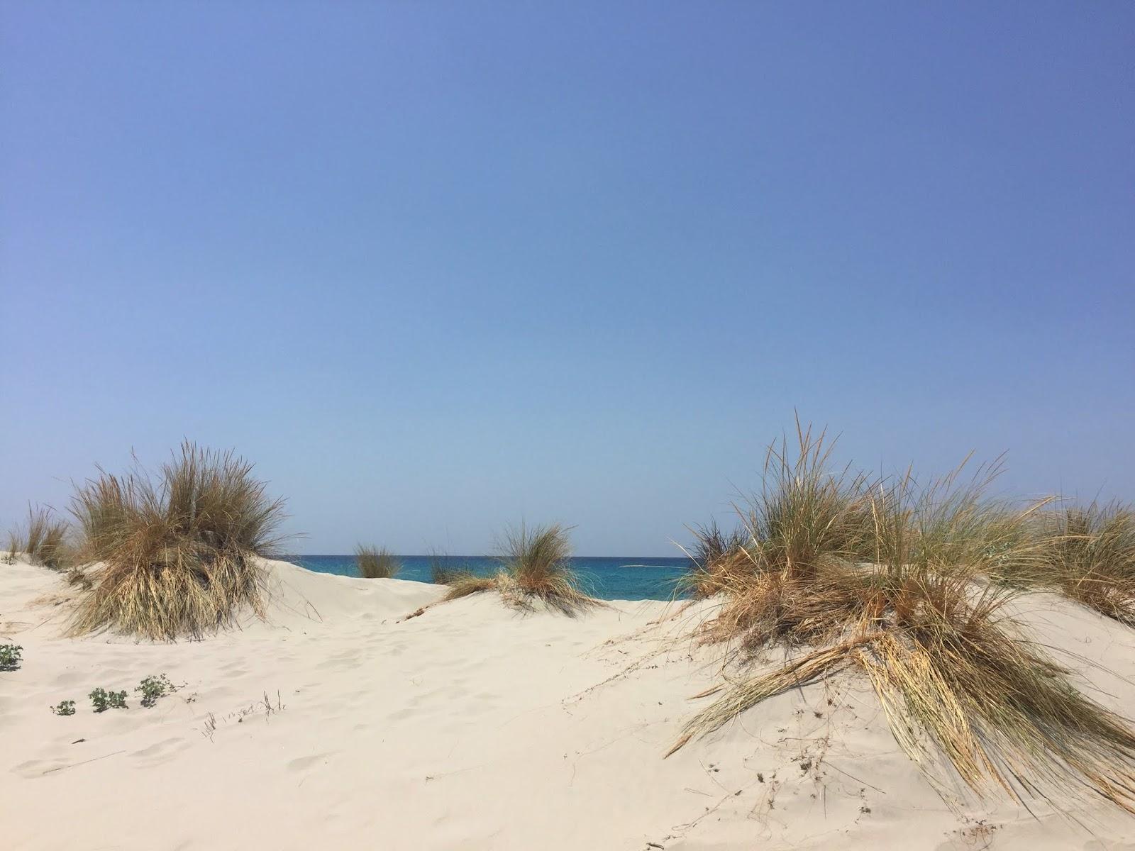 Porto Pino: le dune bianche