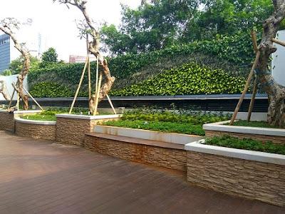 Jasa Pembuatan Taman Vertikal