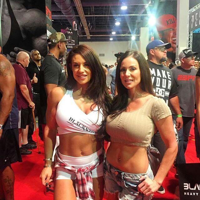 former WWE Diva Celeste 'Kaitlyn' Bonin and Kendra Lust BFFs.  StrengthFighter.com