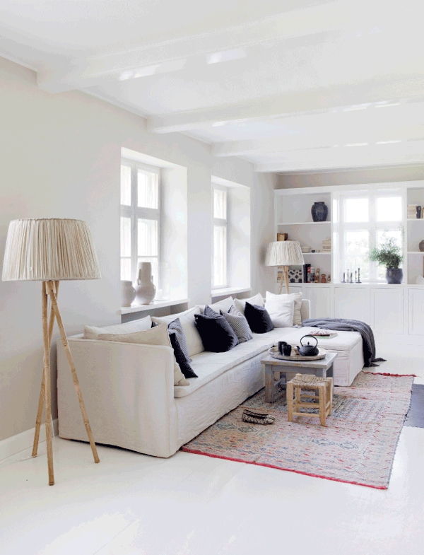 white interior chicanddeco blog