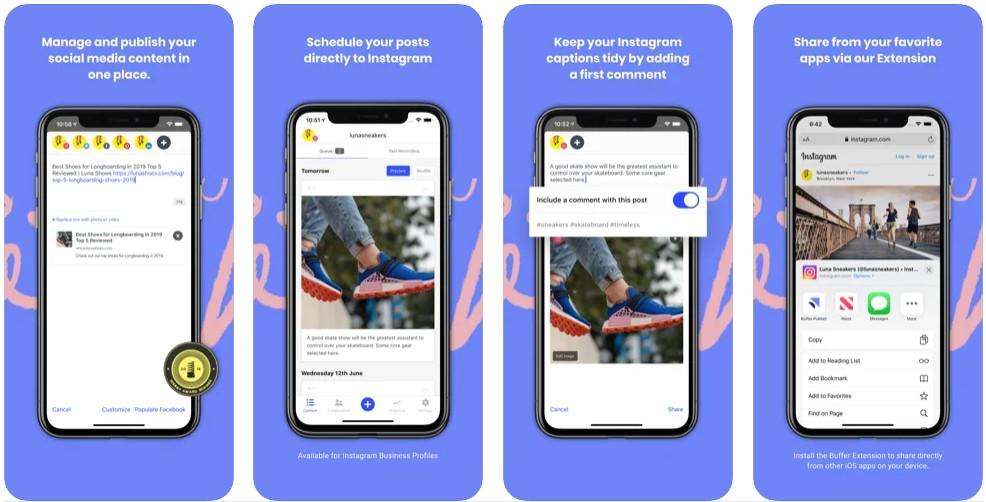 official Buffer app
