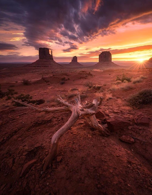 EarthPorn : Monument Valley, Utah