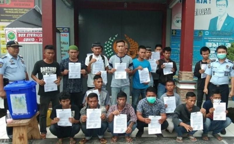 Pandemi Covid-19, 39.628 Narapidana dan Anak Telah Dibebaskan