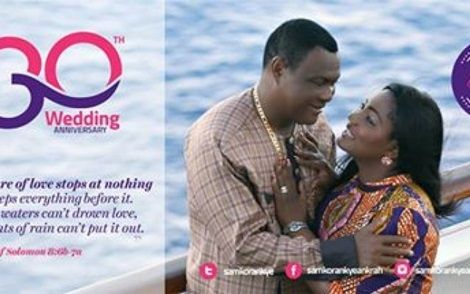 Korankye Ankrah, Wife Celebrate 30yrs Of Marriage