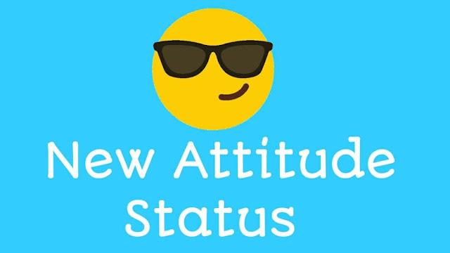 New Attitude status in english
