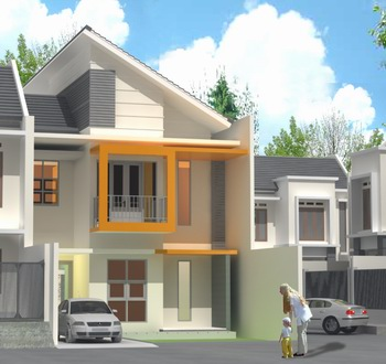 jual rumah minimalis 2 lantai sederhana