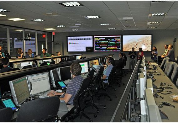 Inside Nasa's mission control: 'centre of the universe ...