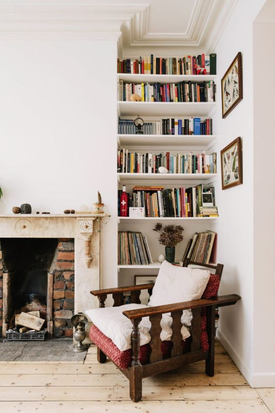 Cozy Up With A Book On Those Snowed In Days- design addict mom