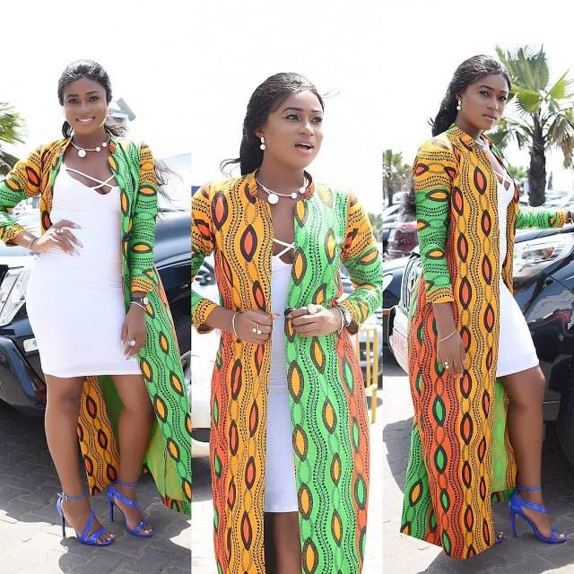 Stylish Kimono Ankara Styles 2018