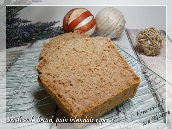 Irish soda bread, un pain irlandais express, avec du psyllium