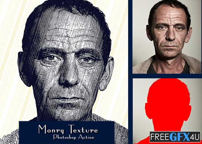 Monry Texture Photoshop Action