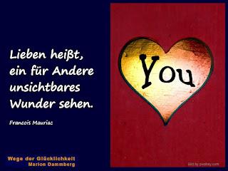 Du bist Liebe! Du bist das Wunder!