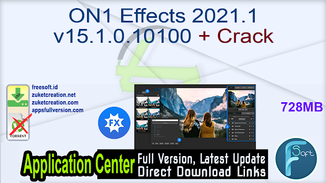 ON1 Effects 2021.1 v15.1.0.10100 + Crack