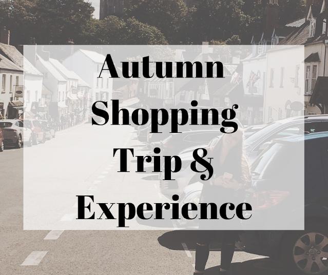 Autumn  Shopping Trip & My Experience