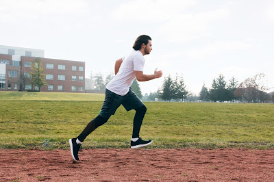 Running exercise for burning calories