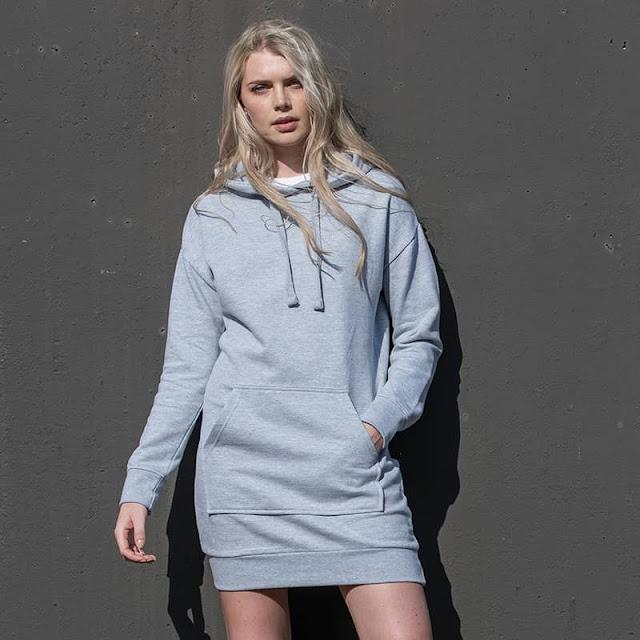 áo hoodie dạng váy