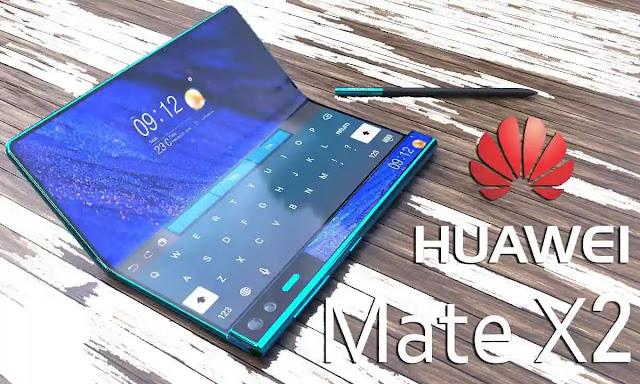 تسريبات جديدة لمواصفات هاتف هواوي ميت اكس 2 – Huawei Mate X2