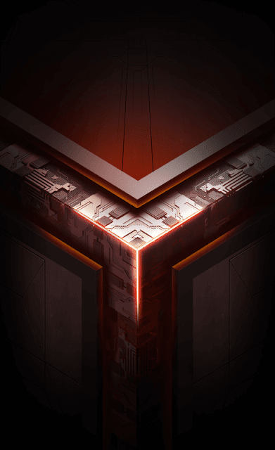 Default ROG Phone Wallpaper X Mode