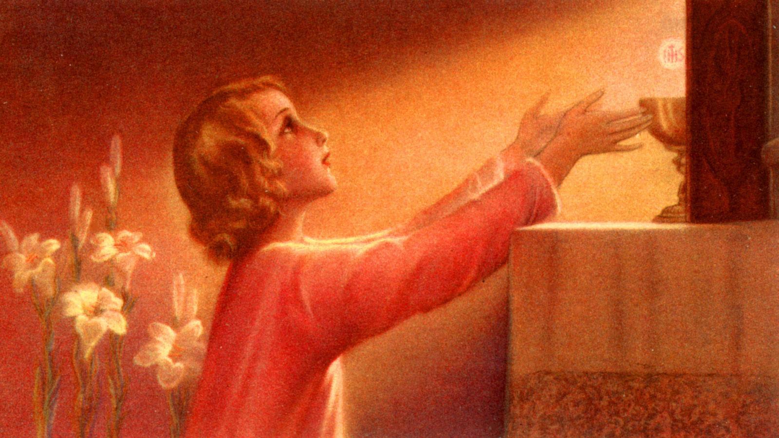 Resultado de imagem para comunhão espiritual
