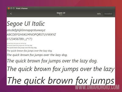 Installing Font Microsoft on Linux