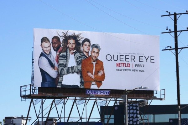 Queer Eye revival billboard