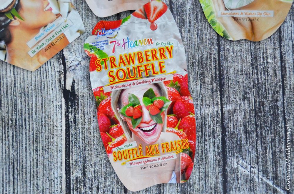 Nawilżająca maska Truskawkowy Suflet (7th Heaven Strawberry Souffle)