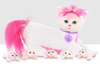 Беременная кошка Персик игрушка