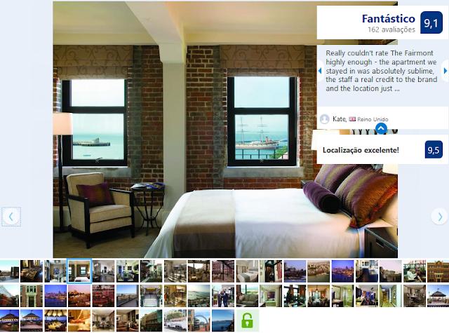 Hotel The Fairmont Heritage Place Ghirardelli Square para ficar em San Francisco