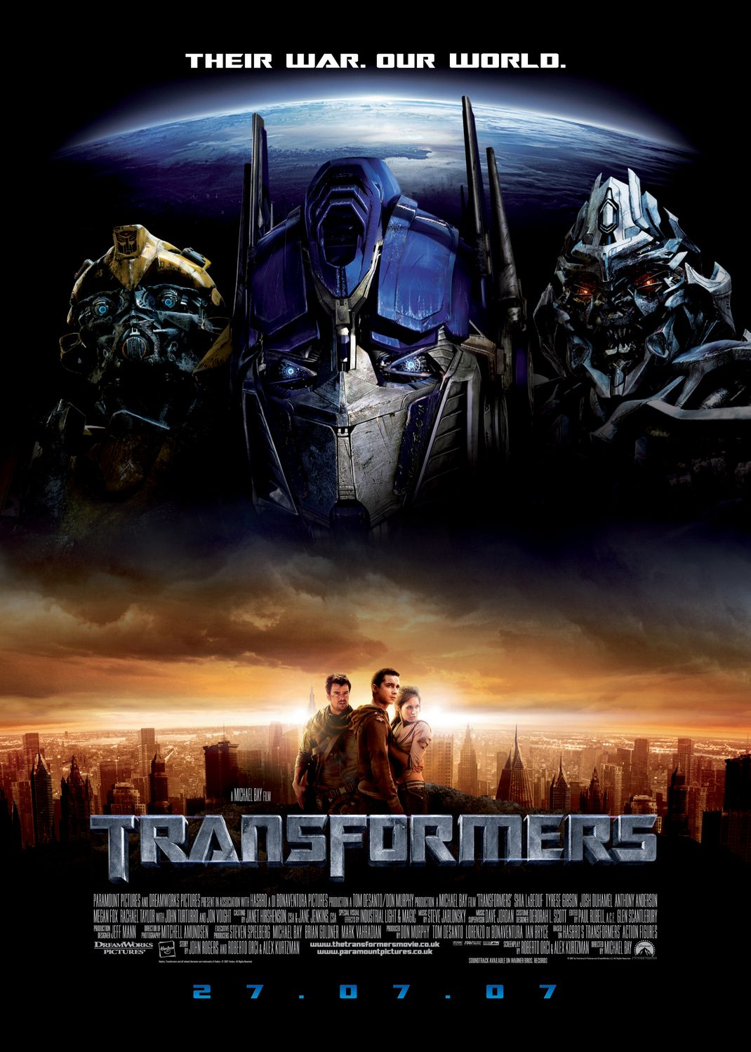 Transformers 1 (2007) ταινιες online seires oipeirates greek subs