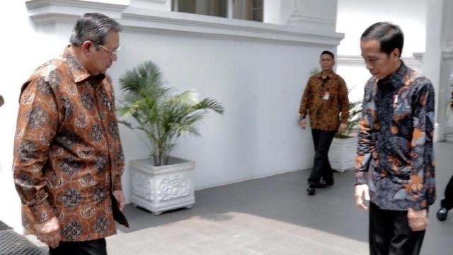 Jokowi Jangan Sungkan Minta Pendapat SBY untuk Hadapi Situasi Darurat Ini