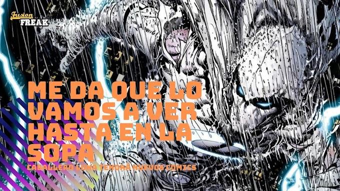 Este julio Caballero Luna tendrá una nueva serie de comics en solitario