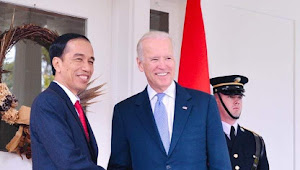 Presiden Joko Widodo  Sampaikan Ucapan Selamat Atas Pelantikan Joe Biden  dan Kamala Harris