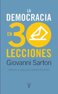 La democracia en treinta lecciones / Giovanni Sartori